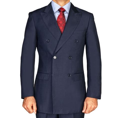 We literally have thousands of great products in all product categories. Men's Navy Blue Double Breasted Suit - 14786598 ...