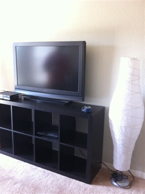 tv riser shelf ikea simple family room design with wooden black painted corner