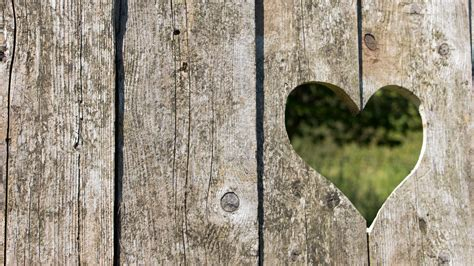 hd heart carved    wood wallpaper