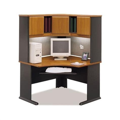 48 inch computer desk with hutch bush bbf series a 48 corner computer desk with hutch in