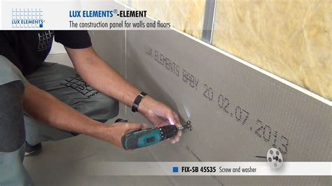 do it bauplatten elements installation construction panel element on metal stud frame