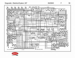 Peterbilt 387 Fuse Panel Diagram