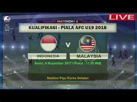 Tajikistan (u19) v malaysia (u19) live football scores and match commentary. LIVE STREAMING INDONESIA VS MALAYSIA AFC U19 2018 - YouTube