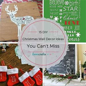 15 DIY Christmas Wall Decor Ideas You Can t Miss