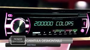 Autoest U00e9reo Pioneer Deh-x3500ui - Audioonline Com Mx
