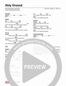 Holy Ground Chord Chart Editable Melodie
