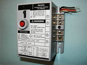 Honeywell R8184g 4009 Oil Burner Primary Control For All