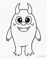 Monster Coloring Pages Printable Books sketch template
