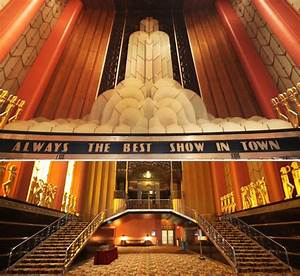 101 best art deco theaters images on pinterest art deco With art deco cinema interior
