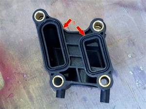 How To Replace A Water Coolant Outlet On A Dodge Charger