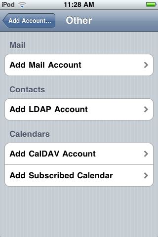how to add email to iphone directory search ios configuring iphone ipod touch for
