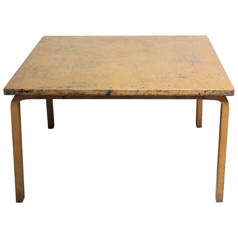 alvar aalto dining table alvar aalto for artek birch card dining table at 1stdibs