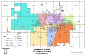 enid public school board zones