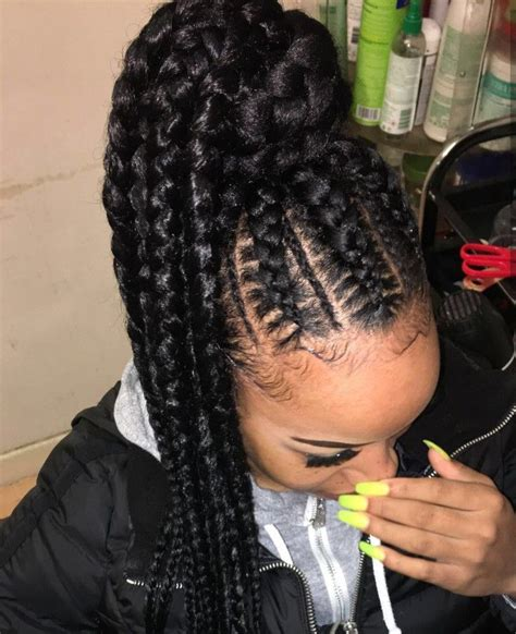 Cornrow Ponytail Hairstyles For by 218 Best Cornrow Ponytail Images On Black