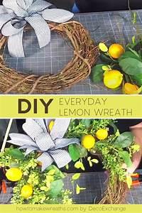 How, To, Make, A, Lemon, Wreath, -, How, To, Make, Wreaths