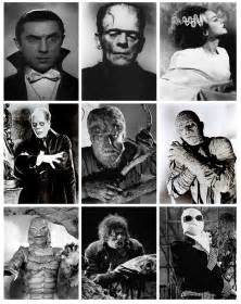 Classic Halloween Monster List by The Skull Amp Pumpkin Thankfulness V