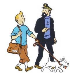 Tintin Haddock Et Milou • Herge, Tintin Et Moi Herge