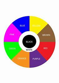 Color Wheel Chart Printable For Kids