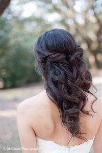 Half up half down, Half up and Down wedding hairstyles on ...