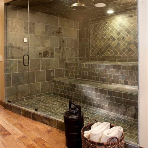 Bathroom Shower Tile Ideas Pictures by Bloombety Shower Tile Designs Ideas With Rattan Basket 5