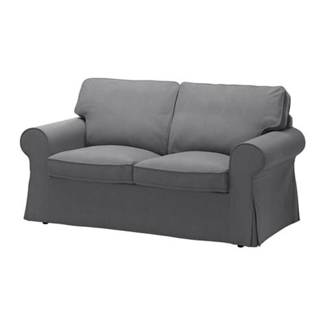 ektorp two seat sofa nordvalla grey ikea