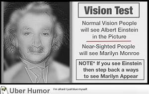 Cool Vision Tes... Funny Optical Quotes