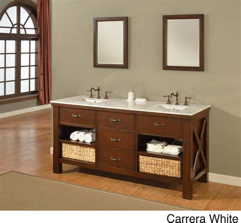 70 inch espresso extraordinary spa double vanity sink