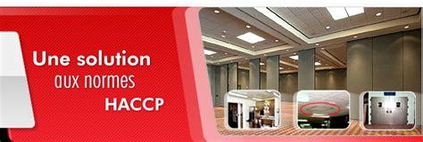 normes haccp cuisine aménagement de murs plafonds pour le secteur alimentaire
