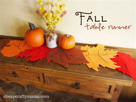 Fall Table Runner Pictures, Photos, And Images For