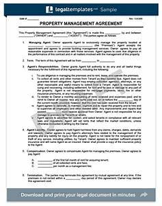 property management agreement create download a free With property manager agreement template