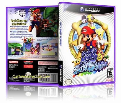 Mario Sunshine Gamecube Case Nintendo Replacement Gc