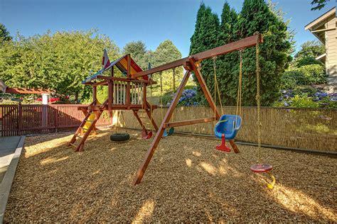 Bright Backyard Playground Equipment Image Ideas For