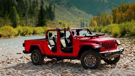 jeep gladiator rubicon running footage youtube