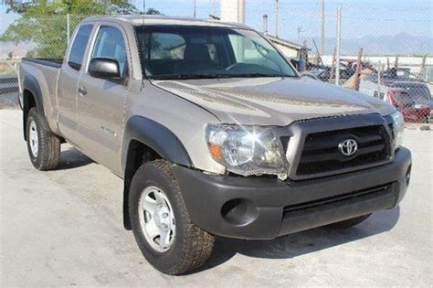 Buy Used 08 Toyota Tacoma Salvage Repairable Rebuilder