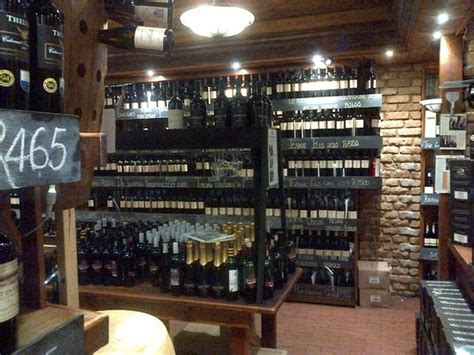 Wine Cellarshop At The Butcher Block Restaurant Picture