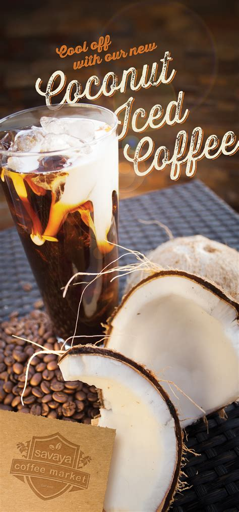 and coffee coconut coffee poster j christopher design