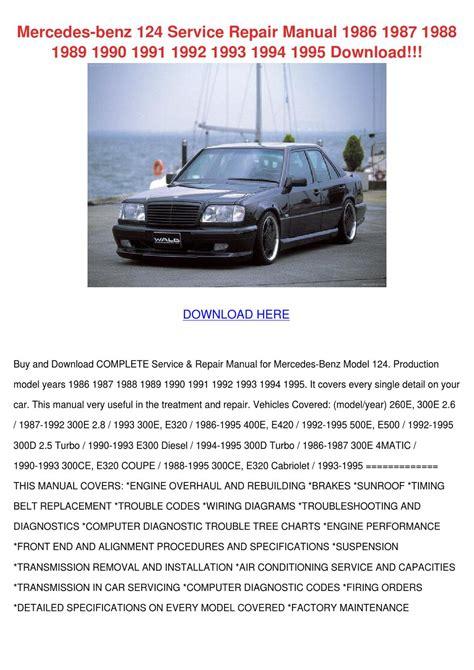 small engine repair manuals free download 1992 mercedes benz 300se auto manual mercedes benz 124 service repair manual 1986 by corneliusburt issuu