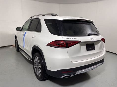 Top speed of 130 mph (electronically limited)*. New 2021 Mercedes-Benz GLE 350 4MATIC SUV   Polar White 21-342