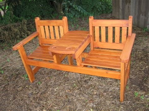 patio bench plans garden bench with table by greg wurst lumberjocks