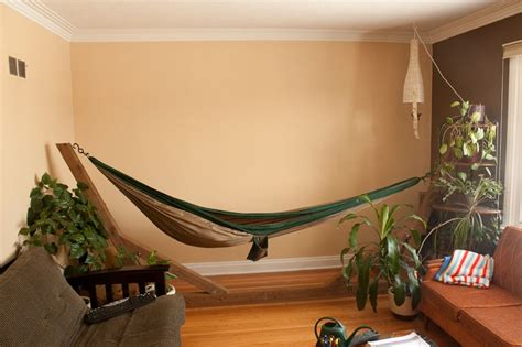 Bedroom Hammock Stand by Portable Indoor Hammock Stand For The Home