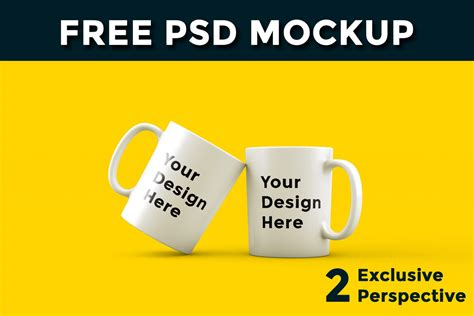 The best free mockups in one place. Free Cup Mockup PSD ~ Creativetacos