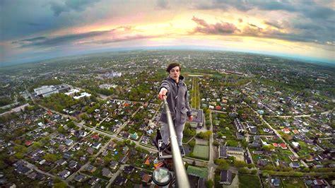 amazing selfie gallery  daredevils  globe caters news agency