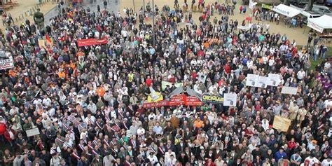 manifestation mont de marsan mont de marsan 3000 personnes 224 la manifestation pour les traditions sud ouest fr