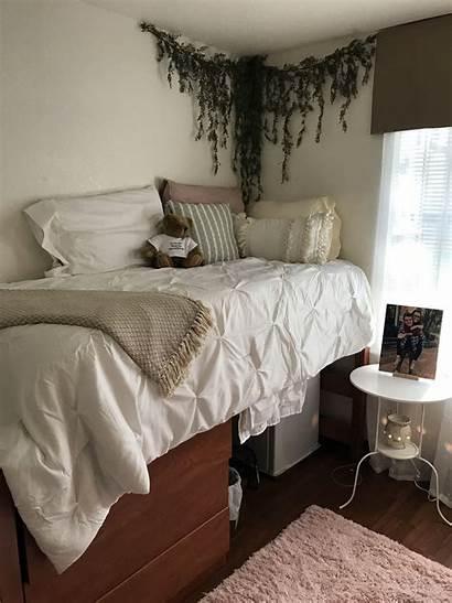 Bedroom Dorm Earth Nook Chic Toned Inspo