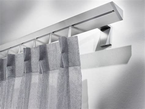 tringle a rideau design tringle 224 rideau en aluminium de style contemporain omero tringle 224 rideau de style contemporain