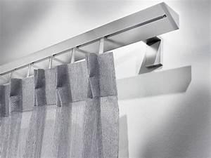 Rideaux Design Contemporain : tringle rideau en aluminium de style contemporain omero ~ Teatrodelosmanantiales.com Idées de Décoration