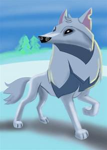 Learn How to Draw Arctic Wolf from Animal Jam (Animal Jam ...