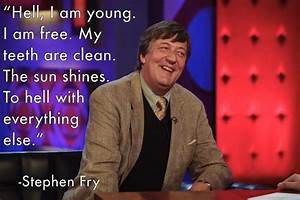 Stephen Fry'... Stephen Fry America Quotes