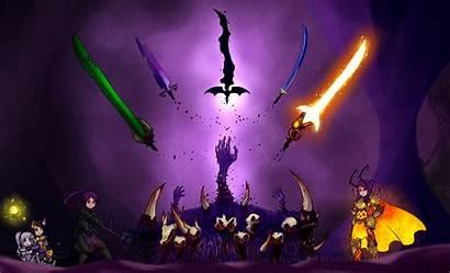 Terraria Swords Wallpapers Deviantart Altar Cthulhu Demon