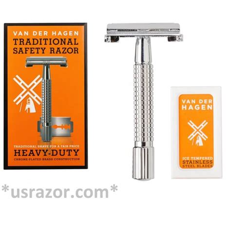 100 Gillette Double Edge Blades & Classic Butterfly Metal